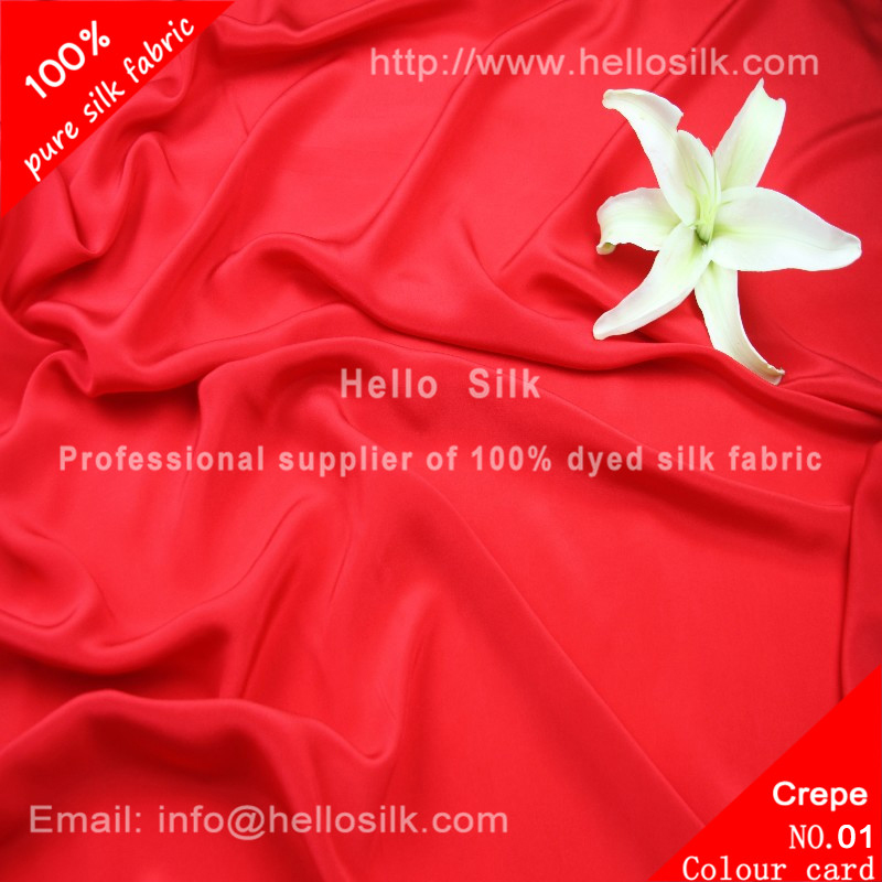 12mm Silk crepe de chine.