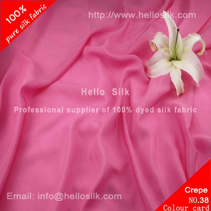 14mm Silk crepe de chine.